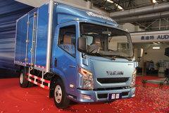 跃进 超越-33 150马力 3360轴距单排厢式轻卡 卡车图片