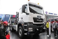 曼(MAN) TGS BBS-WW系列重卡 540马力 6X6 AMT主动挡牵引车 卡车图片