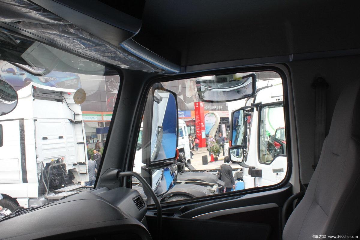 8米自卸车(底盘)(zz3257n384md1) 驾驶室