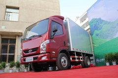 跃进 超越C100-33 125马力 3308轴距单排厢式轻卡 卡车图片