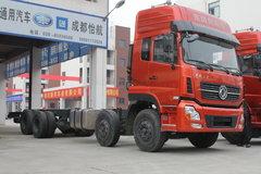 西风商用车 天龙重卡 350马力 8X4 9.4米载货车底盘(DFL1311A9) 卡车图片