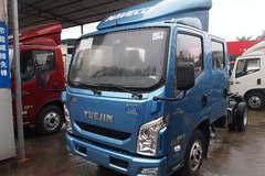 跃进 超越C300-33 125马力 3308轴距双排轻卡底盘(NJ1041ZFDCMS) 卡车图片