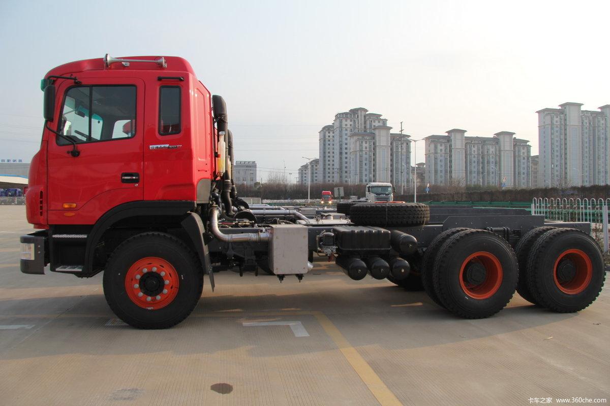 【图】江淮 格尔发k3重卡 300马力 6x4 5.6米自卸车(f