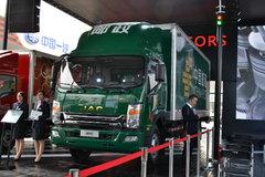 江淮 帅铃中卡 165马力 4X2排半厢式载货车(邮政) 卡车图片