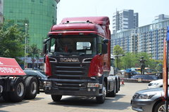 斯堪尼亚 R系列重卡 560马力 6X2R AMT主动挡牵引车(型号R560 V8) 卡车图片
