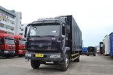 东风柳汽 乘龙M3中卡 180马力 4X2 7.7米厢式排半载货车(LZ5162XXYRAPA)