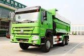 中国重汽 HOWO重卡 380马力 6X4 5.6米自卸车(U型斗新型渣土车)(ZZ3257N3847E1)
