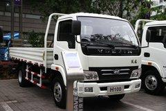 跃进 帅虎H100-33 95马力 4.21米单排栏板轻卡(云内)(NJ1041DBFT5) 卡车图片