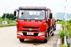跃进 超越C500系列中卡 160马力 4X2 6.8米栏板载货车 卡车图片