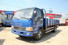江淮 骏铃W380 124马力 5.2米单排栏板轻卡(HFC5056XXYP91K2C5) 卡车图片
