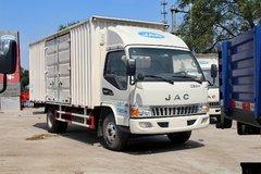 江淮 骏铃W380 124马力 5.2米单排厢式轻卡(HFC5056XXYP91K2C5) 卡车图片