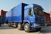 东风柳汽 乘龙M3中卡 220马力 6X2 9.6米厢式载货车(LZ5250XXYRCMA)