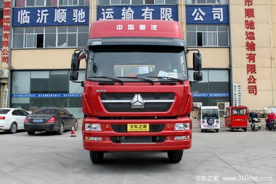 中国重汽 斯太尔m5g重卡 340马力 6x4牵引车(zz4253n324gd1)