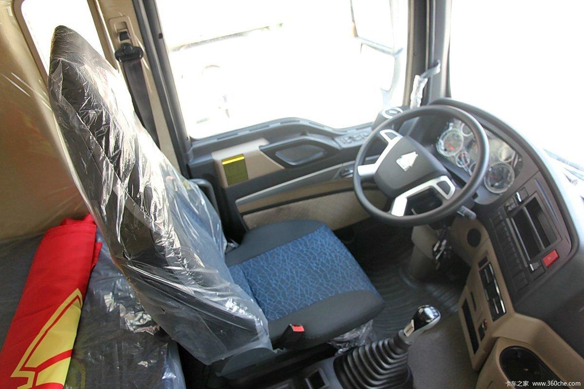 6米厢式载货车底盘(zz1257k56cgd1) 驾驶室