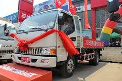 江淮 骏铃H330 130马力 4.18米单排栏板轻卡(白色)(HFC1043P91K6C2) 卡车图片