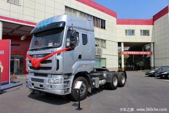 东风柳汽 乘龙m7重卡 385马力 6x4牵引车(东风康明斯)