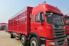 江淮 格尔发A5重卡 220马力 6X2 9.5米仓栅式载货车(HFC5241CCYP2K1C54F) 卡车图片