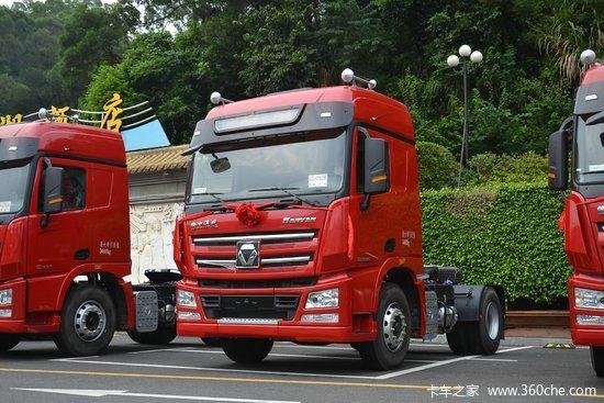 徐工 汉风g7重卡 336马力 4x2危险品牵引车(nxg4189d5