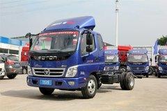 福田 奥铃CTX 118马力 3.7米排半厢式轻卡底盘(BJ5049XXY-CF) 卡车图片