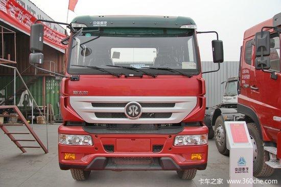 中国重汽 斯太尔m5g重卡 340马力 4x2牵引车(zz4181n361gd1)