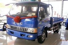江淮 骏铃E6 113马力 3.8米排半栏板轻卡(HFC1043P91K5C2) 卡车图片