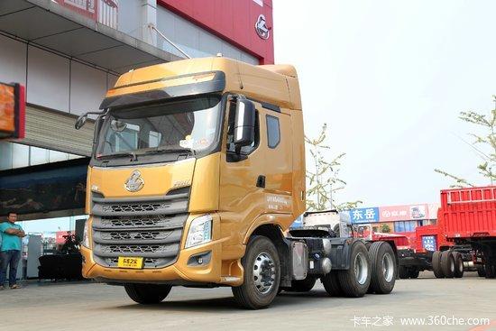 东风柳汽 乘龙h7重卡 400马力 6x4危险品牵引车(lz4252m7da)