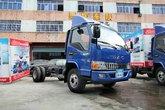 江淮 骏铃中卡 160马力 4X2 4.15米单排载货车底盘