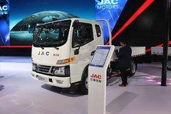 江淮 骏铃V3 120马力 4.235米排半栏板轻卡 卡车图片