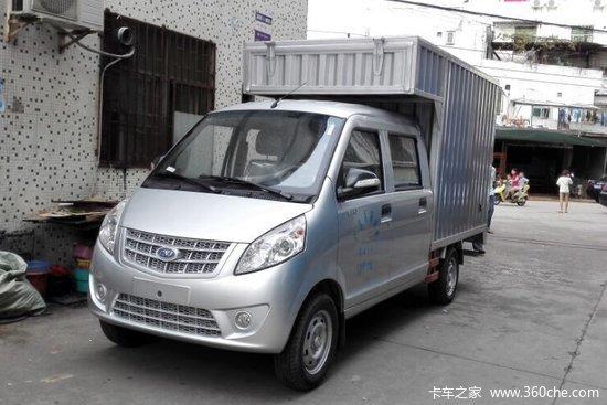 3l 87马力 汽油 双排厢式微卡(国五)图片