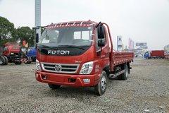 福田 奥铃TX 科技版 110马力 4.23米单排栏板轻卡(红色)(BJ1049V9JD6-AA) 卡车图片
