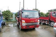 江淮 帅铃H330 风尚版 141马力 4.18米单排栏板轻卡(红色)(HFC1043P71K1C2V) 卡车图片