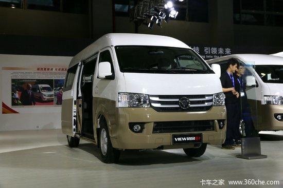 福田商务车 风景 快运版 129马力 9座位 轻客