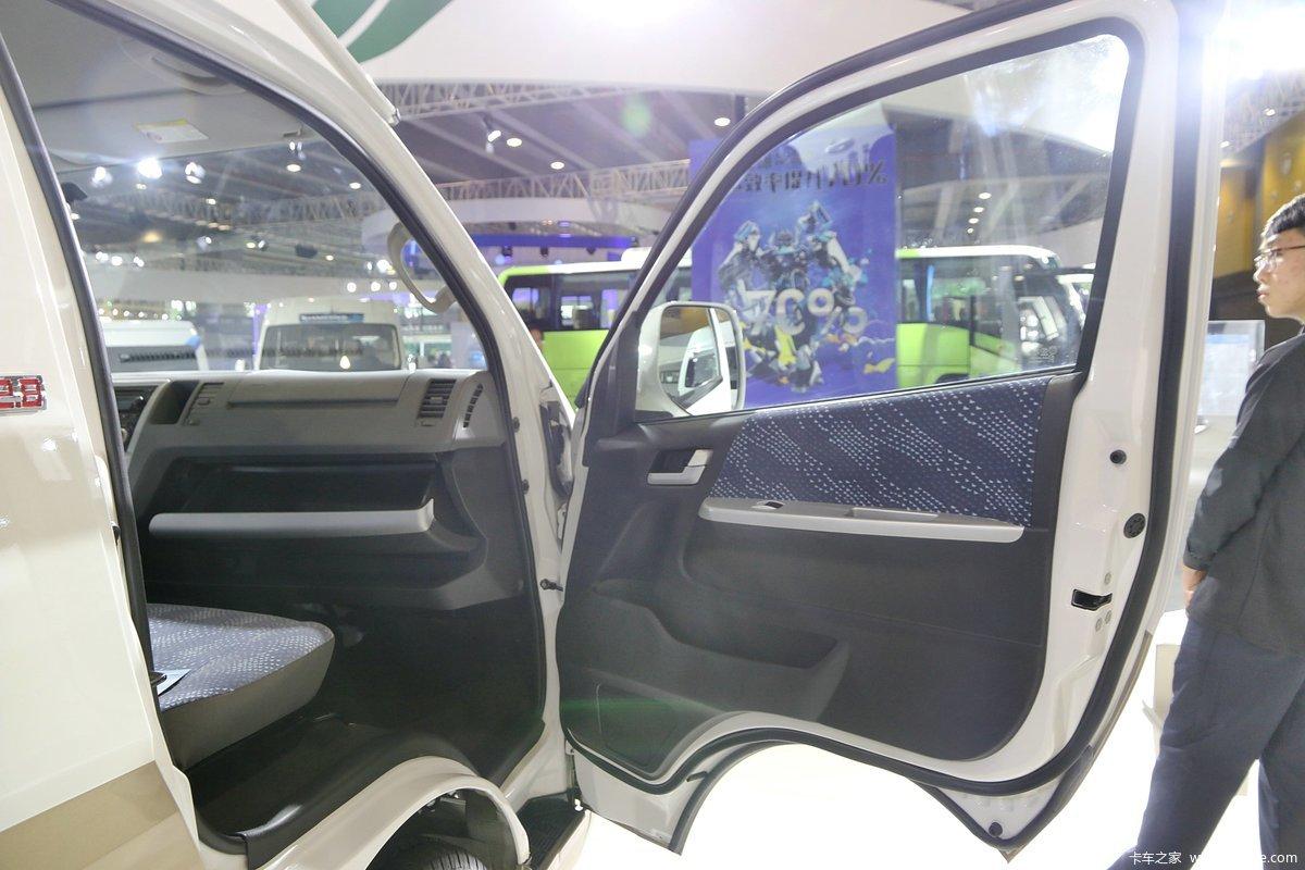 【图】福田商务车 风景g9 129马力 5.38米封闭厢式