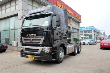 中国重汽 HOWO T7H重卡 440马力 6X4危险品牵引车(ZZ4257V324HE1W)