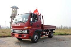 江淮 骏铃V6 160马力 3.8米排半栏板式轻卡(HFC1043P91K6C2) 卡车图片