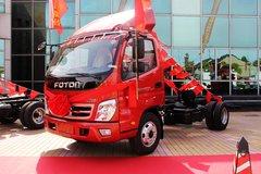 福田 奥铃CTX 118马力 3360轴距单排轻卡底盘(BJ1049V9JEA-FE) 卡车图片