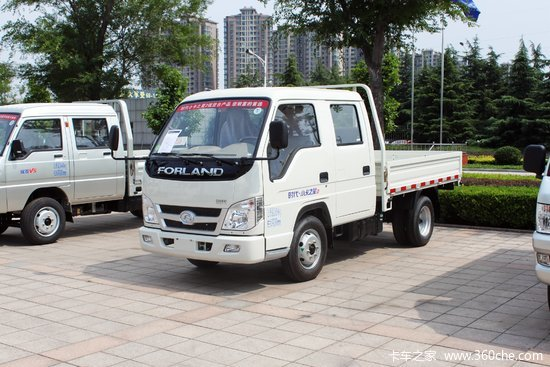 时代轻卡车报价_车型报价> 时代汽车 小卡之星2 68马力 4x2 3米双排栏板轻卡(bj1042v9