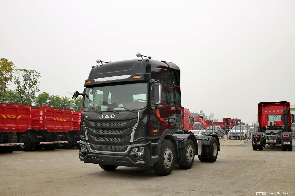 【图】江淮 格尔发k5重卡 340马力 6x2牵引车(hfc4241