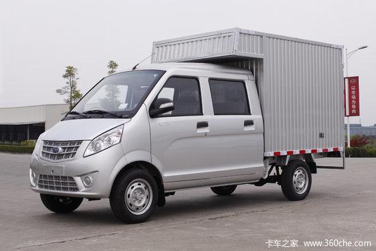 5l 112马力 汽油 2.01米双排厢式微卡(cnj5021xxyssa30v)图片