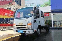 江淮 帅铃H330 152马力 双排轻卡底盘(HFC1041R73K1C3V) 卡车图片