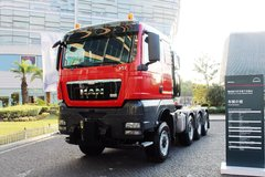 曼(MAN) TGX系列重卡 680马力 8X6牵引车(型号:41.680)