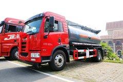 解放 龙V 196马力 4X2 化工液体运输车(程力威牌)(CLW5160GFWC5)