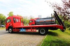 青岛解放  龙V 180马力 4X2 平板运输车(程力威牌)(CLW5162TPBC5)