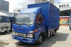 江淮 骏铃V5 120马力 4.15米单排厢式轻卡(HFC5045XXYP92K1C2V) 卡车图片