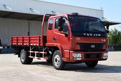 跃进 帅虎H500-33 113马力 3.8米排半栏板轻卡(NJ1041HFCMZ) 卡车图片