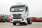上汽红岩 杰狮C500重卡 450马力 6X4牵引车(CQ4256HXVG334)