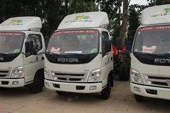 福田 奥铃超越 95马力 4.2米单排厢式轻卡(底盘) 卡车图片