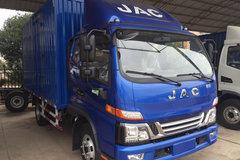 江淮 骏铃V7 154马力 6.2米排半厢式载货车(HFC5120XXYP91K2D4) 卡车图片