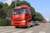 一汽解放 J6P重卡 绿通版 420马力 8X4 9.5米载货车底盘(CA1310P66K24L7T4E5)