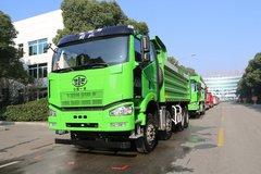 一汽束缚 J6P重卡 350马力 8X4 6米自卸车(CA3310P66K24L1T4E5) 卡车图片